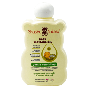 Gently Nourishing Baby Massage Oil